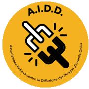 Il logo dell'A.I.D.D. (Associazione Italiana contro la Diffusione del Disagio giovanile)