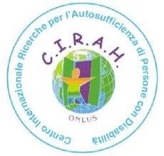 il logo del C.I.R.A.H. (Centro Internazionale Ricerche per l'Autosufficienza di persone con disabilità)
