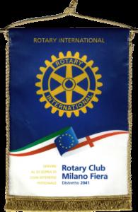 Rotary Club Milano Fiera pennant